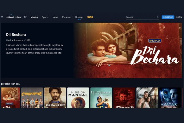 Disney+ Hotstar Rolls Out 4K HDR Support on Android TV, Apple TV