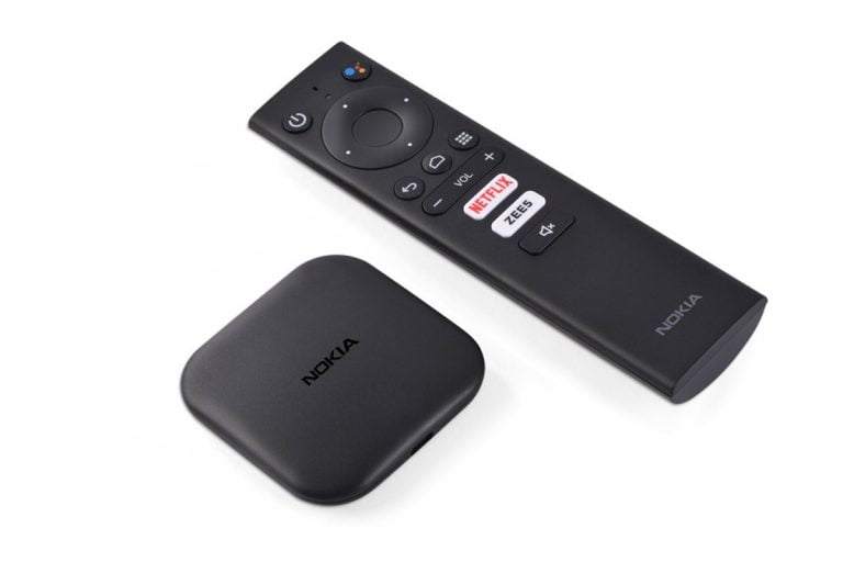 Nokia Media Streamer With Android TV Launched in India