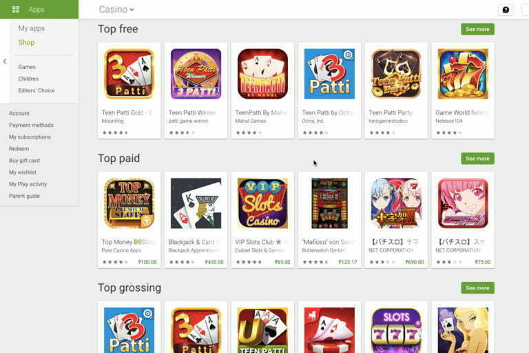 Google's Play Store Now Allows Gambling And Betting Apps